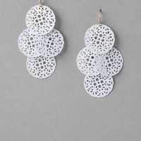 MAYFIELD FILIGREE DROP EARRINGS
