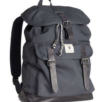 H&M - Backpack - Dark gray - Men