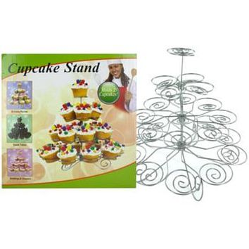 Decorative Metal Cupcake Stand 3 Units Value Pack