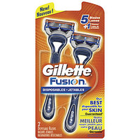 Gillette Fusion Disposable Razors 2 CT PACKAGE - Beauty - Shaving & Hair Removal - Razors & Blades