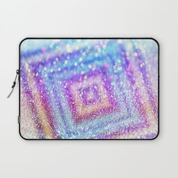 diamond glitter Laptop Sleeve by Haroulita