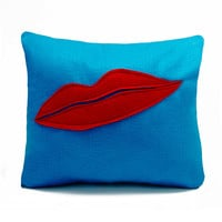 Man Ray Lip Lover's Pillow