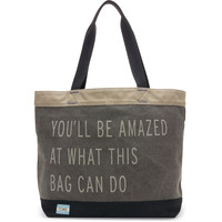 Charcoal You'll Be Amazed Transport Tote