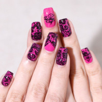 Nail Decals  Nail Guides For Quick and Easy Nail Art