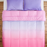 Full/Queen - Lavender Ombre Comforter Set