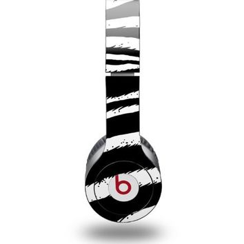 Zebra Decal Style Skin fits Beats Solo HD Headphones - (HEADPHONES NOT INCLUDED)
