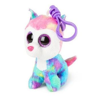 Ty Beanie Boos Izabella - Husky Clip (Claire's Exclusive)