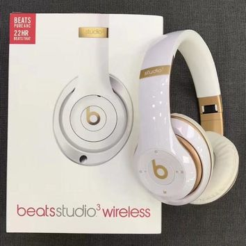 Beats Solo 3 Wireless Magic Sound Bluetooth Wireless Hands Headset MP3 Music Headphone with Microphone Line-in Socket TF Card Slot-3