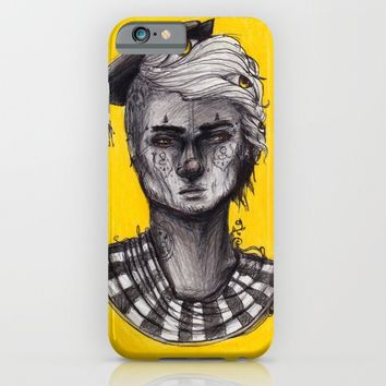 Seen in Yellow iPhone & iPod Case by Ben Geiger