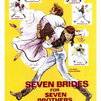 Seven Brides for Seven Brothers 27x40 Movie Poster (1954)