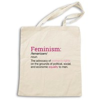 Definition of Feminism -- Tote Bag