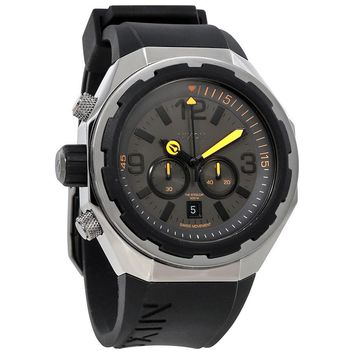Nixon Steelcat Chronograph Grey Dial Mens Watch A313-1235