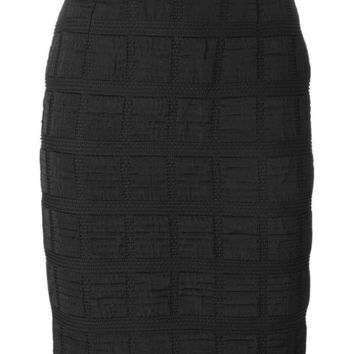 DCCKIN3 Moschino Cheap & Chic Vintage square panelled skirt
