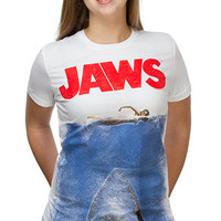 Gonna Need a Bigger Boat Ladies' Tee - White,