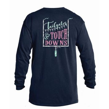 Tailgates and Touchdowns Long Sleeve Tee