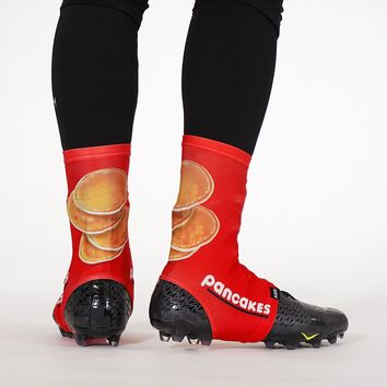 Pancakes Red Spats / Cleat Covers