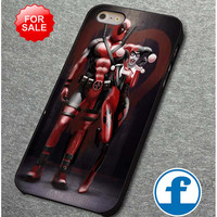 Harley Quinn and Deadpool  for iphone, ipod, samsung galaxy, HTC and Nexus PHONE CASE
