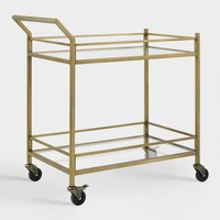 Gold Milayan Bar Cart