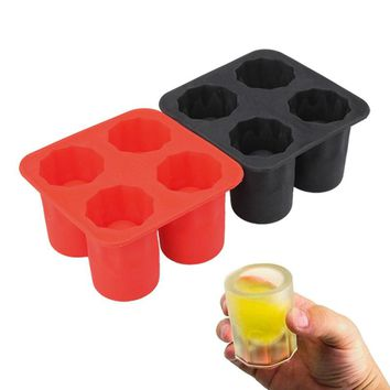 DIY Ice Cream Tool Brain Shape Ice Cube Tray Ice Maker Mould Shot Glasses Ice Mold Party Drinking Accessories