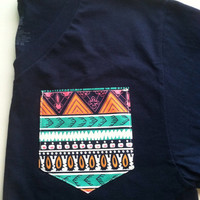 X-LARGE Custom V-Neck with Pocket- More, New Fabric Options