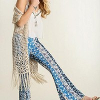 Lucky Duck Boho Bell Bottoms