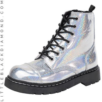 Hologram Combat Boot