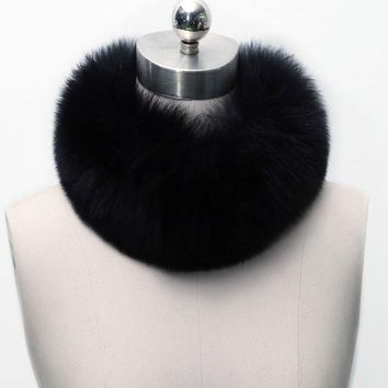 Upscale Autumn&Winter Faux Fur Scarf
