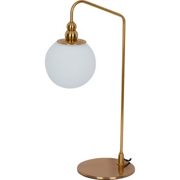 Gold Tone Task Lamp 53x28cm - Lighting - Home Accessories - Home - TK Maxx