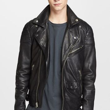 BLK DNM 'Leather Jacket 31' Leather Moto