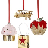 ChemArt Collectible Ornaments, Macy's Exclusives Collection