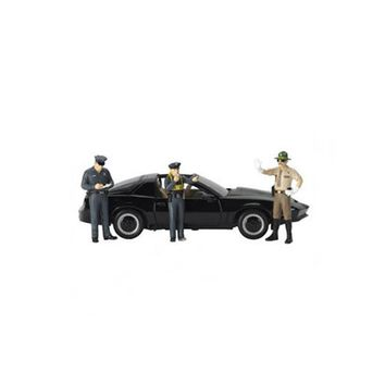 Safety Check 3pc Figure Police Set for 1-18 Scale Models by Motorhead Miniatures