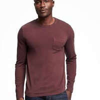 Garment-Dyed Heavy-Weight Tee for Men | Old Navy