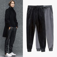 Korean Stretch Thicken Casual Pants [11535876294]