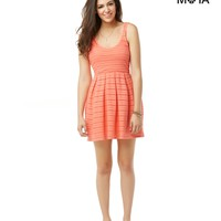 Aeropostale  Womens Lace Knit Dress - Coral, X-Small