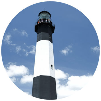 Paul Moore's Lighthouse Circle Wall Decal