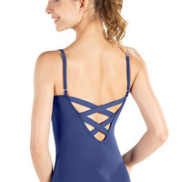 So Danca D399 Adult Camisole Leotard W/ Trellis Back