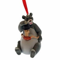 Disney Parks Christmas Ornament 3D Baloo and Mowgli New with Tags