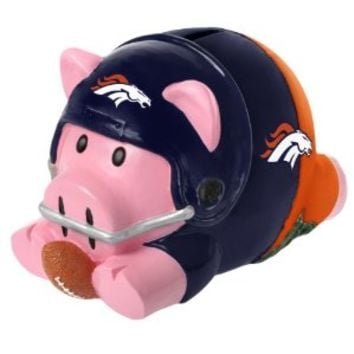 NFL Denver Broncos Action Piggy Bank