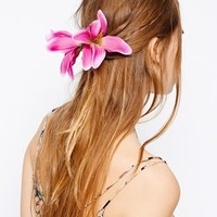 Johnny Loves Rosie Lily Flower Hair Clip - Pink