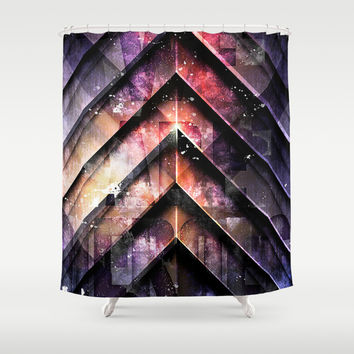 Hero Sessions IV Shower Curtain by HappyMelvin