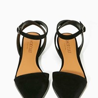 Shoe Cult Heir Flat - Black
