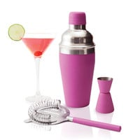 Pink Drink Cocktail Shaker
