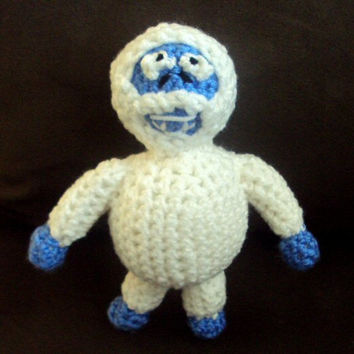 Crochet Abominable Snow Monster Doll
