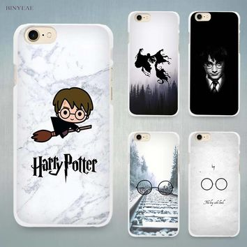Harry Potter Welcome to Diagon Hard White Cell Phone Case Cover for Apple iPhone 4 4s 5 5C SE 5s 6 6s 7 8 Plus X