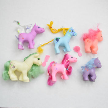 "Lot of 6 // Various Type My Little Pony ""Fakies"" // Great Condition Bait Ponies Excellent for MLP Customs"