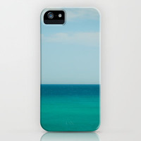 Sea & Sky abstract iPhone & iPod Case by SYoung.photography