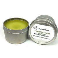 Chamomile, Comfrey and Rosemary Salve, Natural Salve, Skin Balm, Gift under 10
