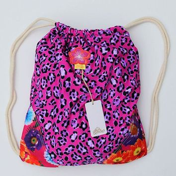 AGUA BENDITA Floral Sports Bag