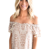 Andi Off the Shoulder Top