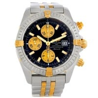 Breitling Chronomat Steel 18K Gold Watch B13356